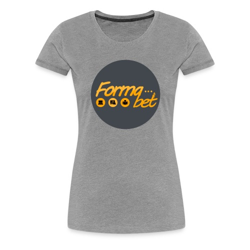 FORMABET - Camiseta premium mujer