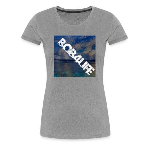 the design is chill. - Women's Premium T-Shirt