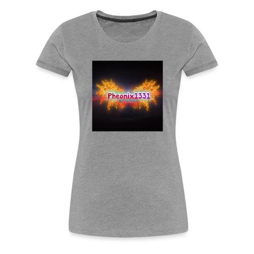 Flaming Pheonix YT - Women's Premium T-Shirt