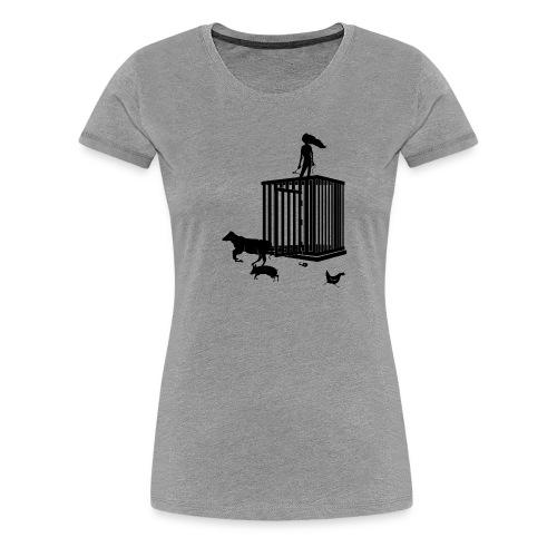 Strong Woman - Dame premium T-shirt
