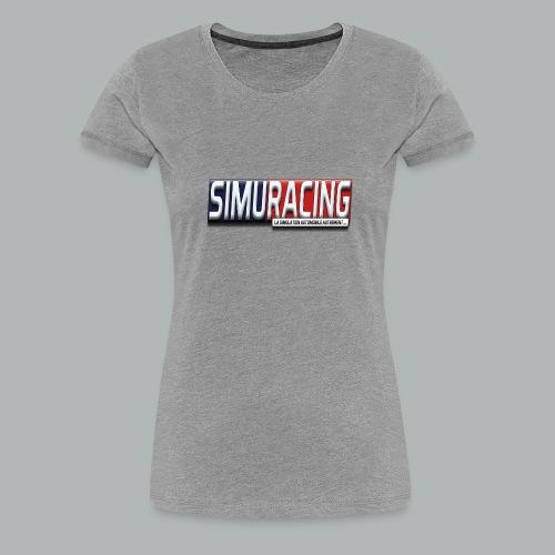 logo Simuracing - T-shirt Premium Femme