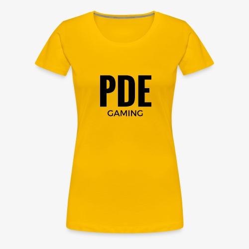 PDE Gaming - Frauen Premium T-Shirt