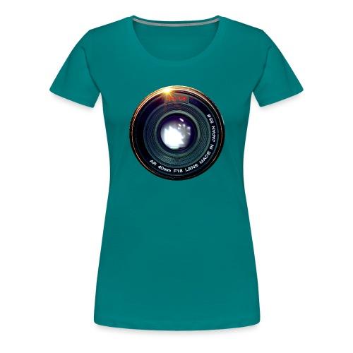 Vintage Pancake Lens - Maglietta Premium da donna