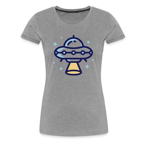 Space Spaceship - Vrouwen Premium T-shirt