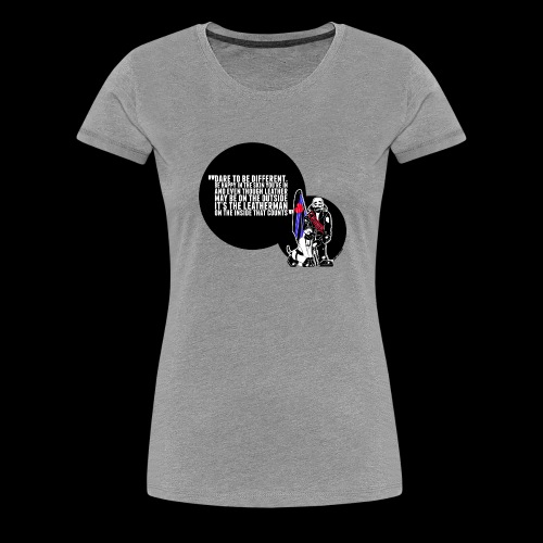Mr Leather UK 2017 with Slogan - Women's Premium T-Shirt