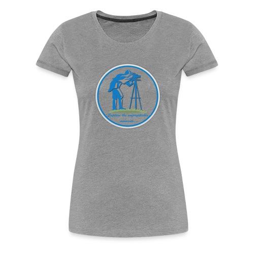 Logo Capture the Moment - Women's Premium T-Shirt