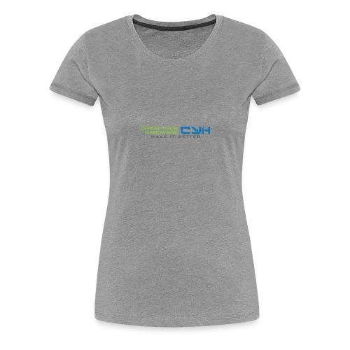 Cheat Your Hardware - Frauen Premium T-Shirt