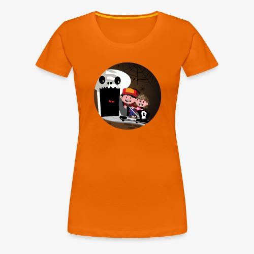 Themepark: Ghostcastle - Vrouwen Premium T-shirt