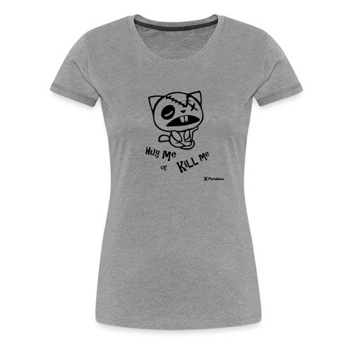 Happy tree friends Hug me or kill me - Dark cat' - T-shirt Premium Femme