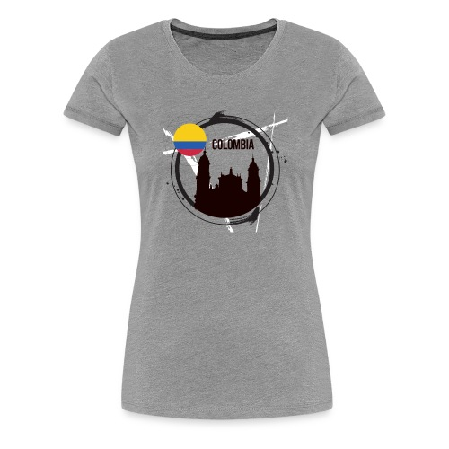 Kolumbien T-Shirt - Frauen Premium T-Shirt