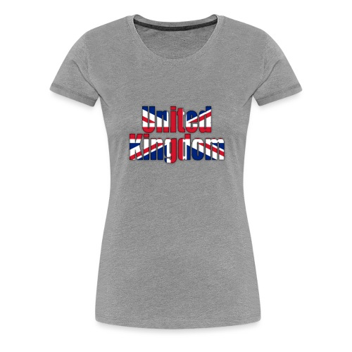 UK - Women's Premium T-Shirt