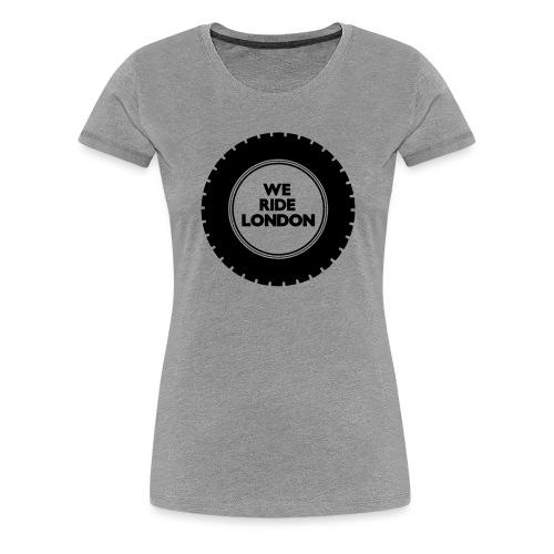 Simple WRL Logo Mk 2 - Women's Premium T-Shirt