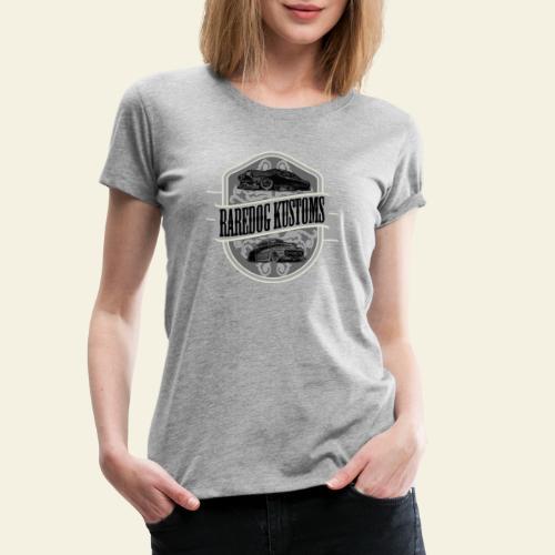 rd kustoms gray - Dame premium T-shirt