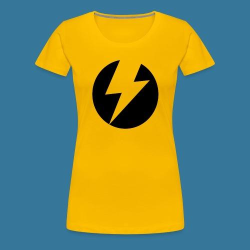 BlueSparks - Inverted - Women's Premium T-Shirt
