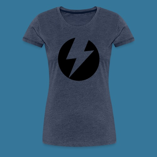 BlueSparks - Inverted - Women's Premium T-Shirt