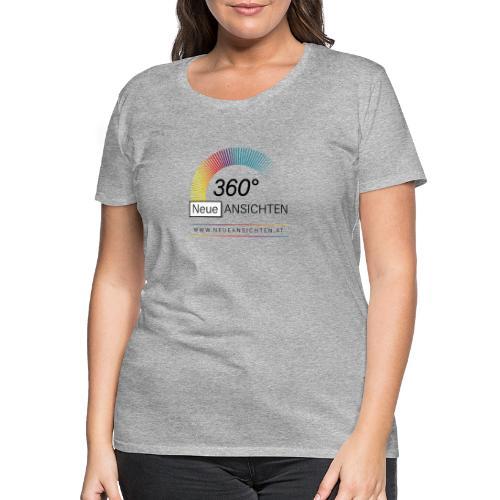 Logo NeueAnsichten - Frauen Premium T-Shirt