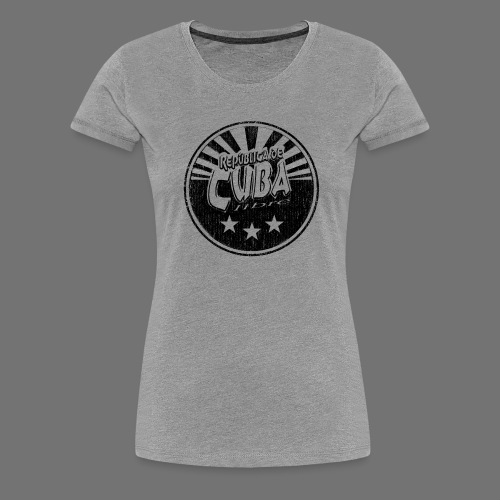 Cuba Libre (1c musta) - Naisten premium t-paita