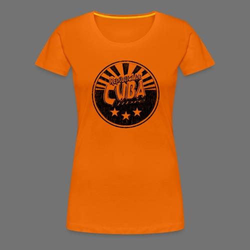 Cuba Libre (1c black) - Frauen Premium T-Shirt