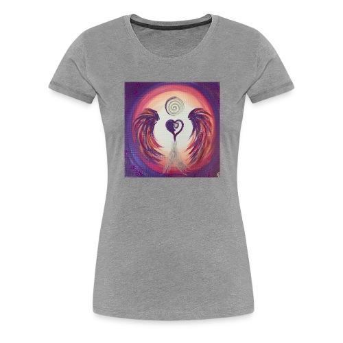 Herzengel der Magie des Lebens - Frauen Premium T-Shirt