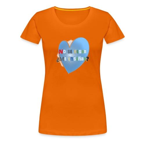 besos - Camiseta premium mujer