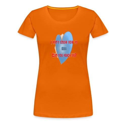 kiss - Camiseta premium mujer