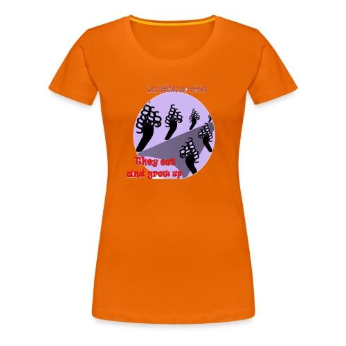 hábitos - Camiseta premium mujer