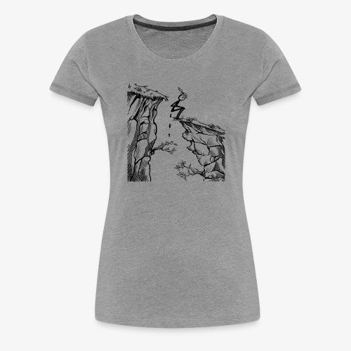 Schluchtenscheisser - Frauen Premium T-Shirt