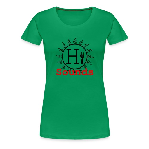 Hi Sounds Logo - Frauen Premium T-Shirt