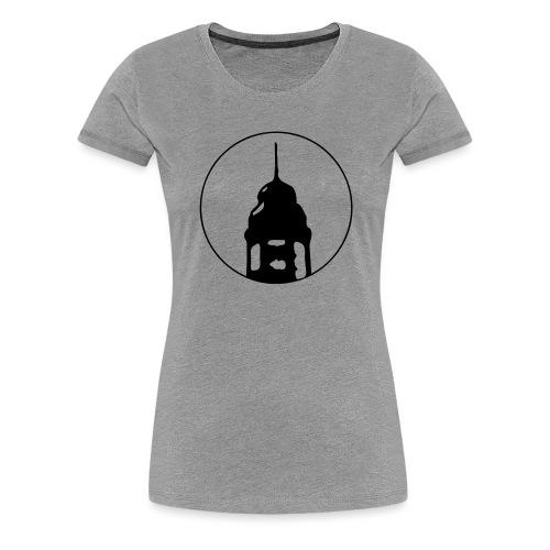 Neckarstadtblog Logo - Frauen Premium T-Shirt