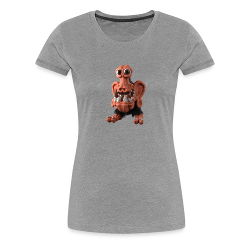Very positive monster - Women's Premium T-Shirt