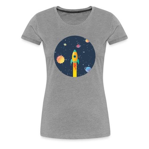 Spaceship travel - Maglietta Premium da donna