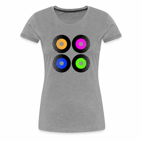 Schallplatten Inspiration - Frauen Premium T-Shirt