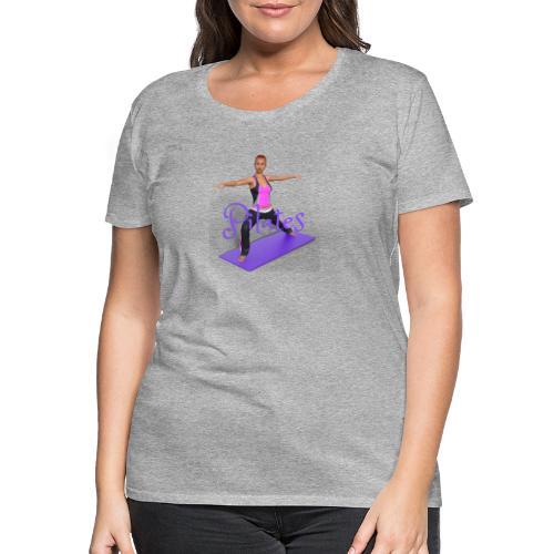 Pilates - Frauen Premium T-Shirt