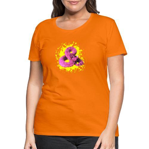 Pink Rattlesnake - Frauen Premium T-Shirt