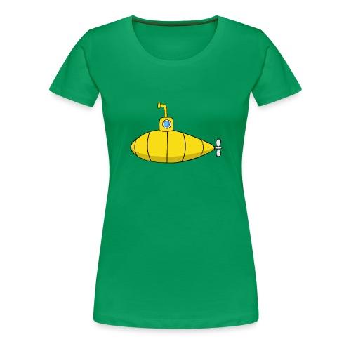 Submarine - Camiseta premium mujer