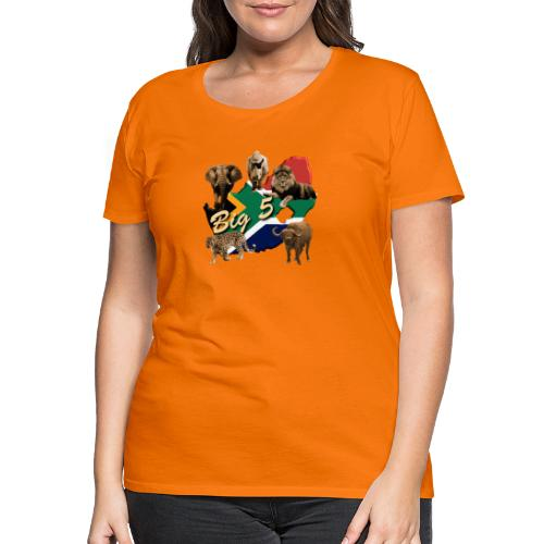 Big 5 - Südafrika Safari - Frauen Premium T-Shirt