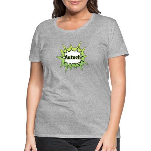 Comic Schrift Autsch - Frauen Premium T-Shirt