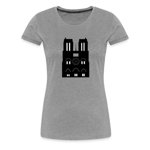 Souvenir de Cathédrale - T-shirt Premium Femme