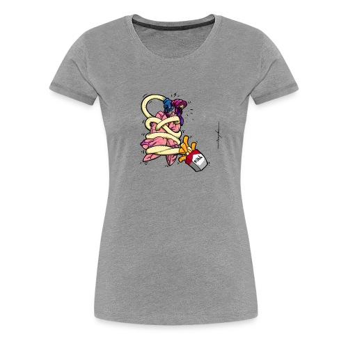 TABAC POUMON - T-shirt Premium Femme
