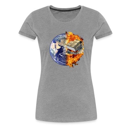 Planete - T-shirt Premium Femme