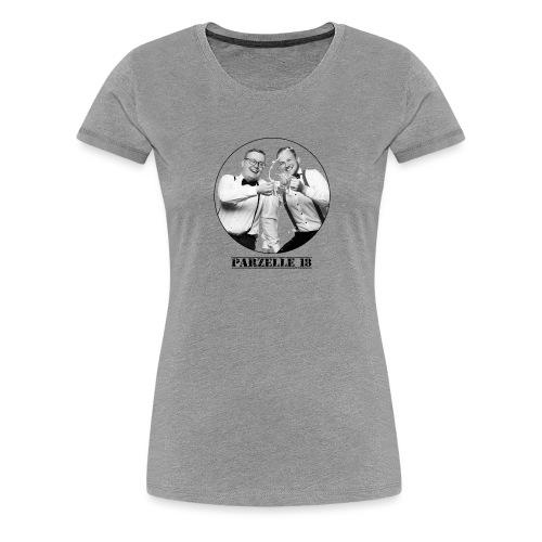 Parzelle 18 Logo - Frauen Premium T-Shirt