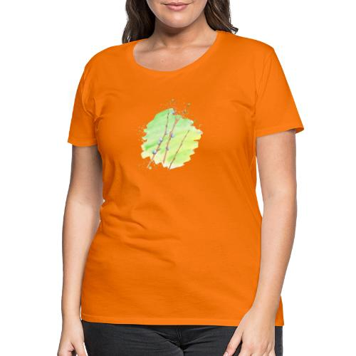 Weidenkätzchen - Frauen Premium T-Shirt