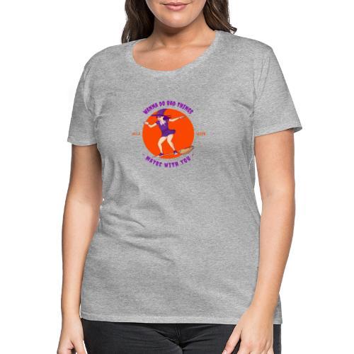 Halloween Witch - Frauen Premium T-Shirt