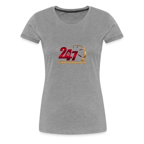 Criptovalute 247 Logo 1 - Maglietta Premium da donna