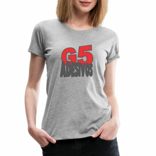 Adesivos cooler Stil - Frauen Premium T-Shirt