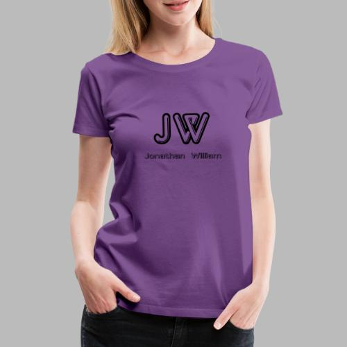 Jonathan William JW logo - Women's Premium T-Shirt