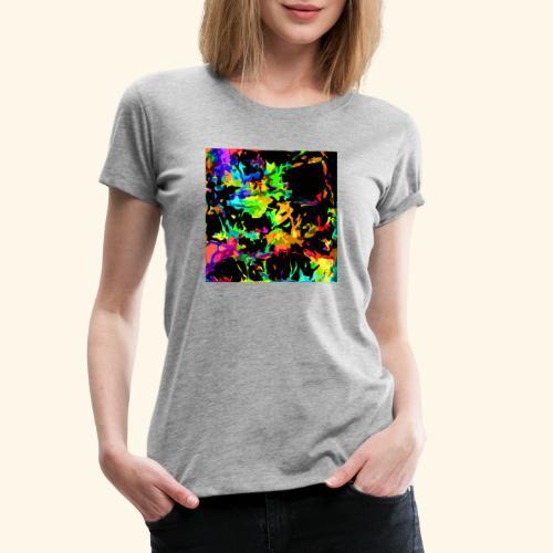 Fiamme colorate - Maglietta Premium da donna