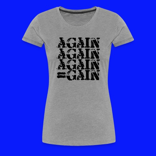Fitness Gym - Women's Premium T-Shirt
