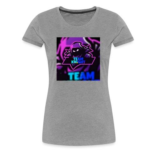 team knight aleen van voor - Vrouwen Premium T-shirt