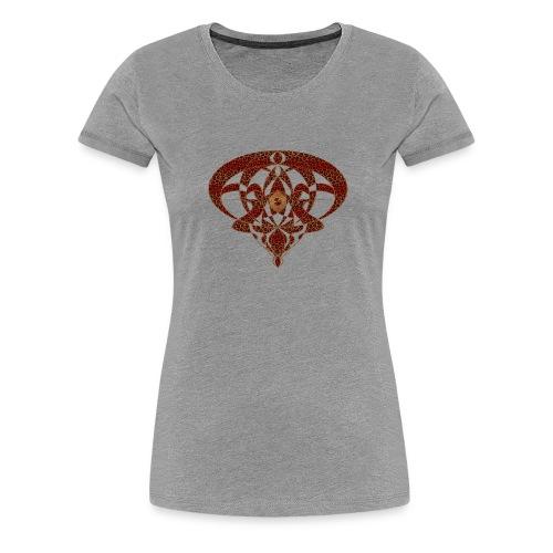 Art Nouveau Art Deco Art Nouveau Vintage Art Gold - Women's Premium T-Shirt